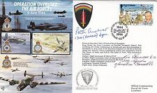 JS50/44/4d Operation Overland-The Air Force Signed P Ayerst & K Farrow