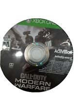 DISC ONLY - Call of Duty: Modern Warfare (Xbox One, 2019)