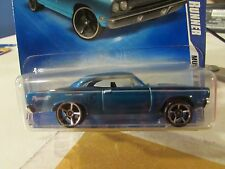 Hot Wheels '70 Plymouth Road Runner Muscle Mania Blue