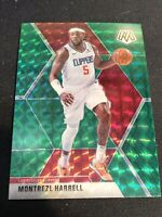 Montrezl Harrell 2019-20 Mosaic Green Prizm #98 Los Angeles Clippers