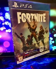 Fortnite Deluxe with Weapons Pack PS4 Brand New Factory Sealed Very Rare English