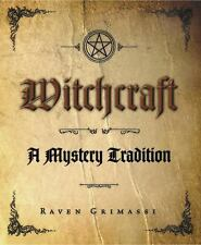 Witchcraft - A Mystery Tradition Book ~ Wiccan Pagan Witchcraft Supply