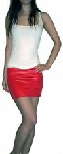 Polyester Extra short, Micro-mini Plus Size Skirts for Women