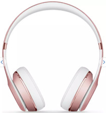 Beats by Dre Solo 3 On-Ear Wireless Headphones - Rose Gold New and Sealed