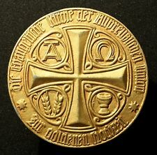 Medaille der Evangelischen Kirche zur Goldenen Hochzeit o.J., (Zink, um 1940)