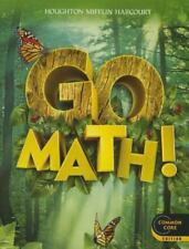 Go Math! Student Edition Grade 1 2012 (Paperback) Unused & Unread Book