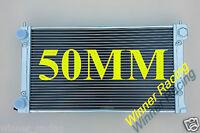 50MM ALUMINUM ALLOY RADIATOR VW GOLF MK1/2 GTI/SCIROCCO 1.6 1.8 8V MT