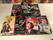 Claudette Colbert Vhs Lot of 7 It Happened One Night Imitation Of Life Egg & I +