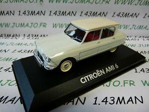 VMP8 voiture 1/43 NOREV atlas voiture de mon père : CITROËN AMI 6