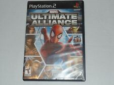 Playstation 2 Game - Marvel: Ultimate Alliance - Free Ship - Complete - PS2