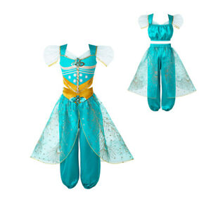 Girls  Princess  Costume Party Cosplay Halloween FancyOutfits
