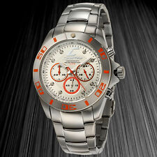 Chronotech European Designer Chronograph Mens Watch / MSRP $1,200.00