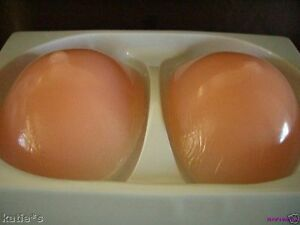 New Sexy BREAST ENHANCER Silicone breast With Nipple add 2 cup Size 2in thick L