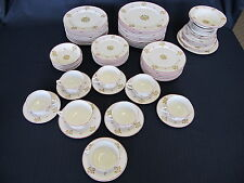St Albans O P Co Syracuse China 54 Piece Set + No RR back stamp Pattern MPRR