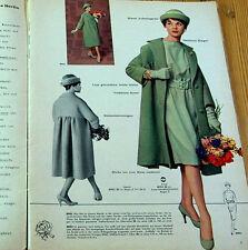 Modezeitschrift BEYER MODE 9/1958 - 2 Schnittmuster-Bg 50er Jahre VINTAGE Jacken