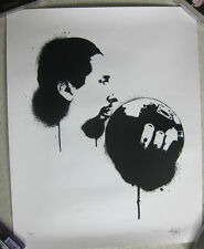 The Big Lebowski Jesus 2Cents Silkscreen Movie Poster Coen Bros signed Print