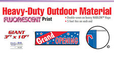 Grand Opening Banner Sign new business open house come on in new management