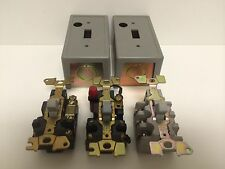 NEW SQUARE D TOGGLE SWITCH LOT 2510-KO2 2510-FO2 2510-FO-2P 2510-FG6