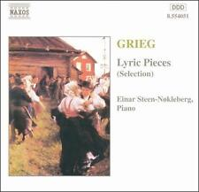 Edvard Grieg: Lyric Pieces (Selections), New Music
