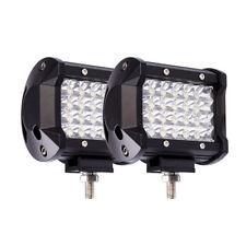 """1X 200W 4"""" LED Combo Work Light Bar Spotlight Offroad Driving Fog Lamp Truck 12V"""