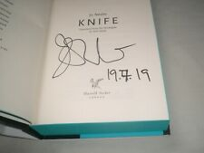 JO NESBO - Knife SIGNED + DATED 1/1 Hb - 2019 - HARRY HOLE book 12 - plus extras