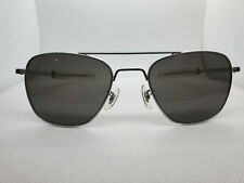 Randolph Engineering 1991 Vintage Air Force Aviator Silver Sunglasses 52mm