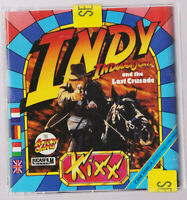 RARE vintage LIKE NEW SEALED RARE vintage Indy Indiana Jones and the game Amiga