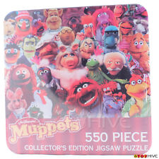 Muppets 25th Anniversary Collectors Edition Jigsaw Puzzle 550 pc  tin container