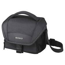Sony Lcs-u11 Soft Carrying Case Travel Bag for NEX Handycam & Cybershot LCSU11