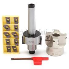 Morse Taper MT2 M10 50mm 400 Collet Chuck +10X INSERTI APMT1604 CNC Milling Tool