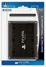 HORI Officially Licensed Card Case 12 for PS Vita Black FREE SHIPPING
