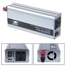 1500W 12V DC to AC 220V Car Auto Power Inverter Converter Adaptor Transformer