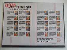Seasonal, Christmas British Stamp Sheets