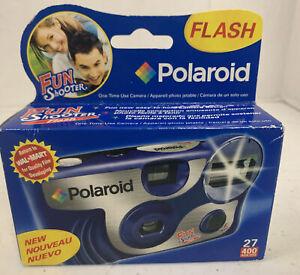Polaroid Fun Shooter Flash One-Time Use 35mm Camera 400ASA 27 NIB (07/2008 Exp.