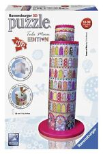 RAVENSBURGER PUZZLE EDIFICIO 3d Tula Moon Pisa Torre Pizarra Multicolor