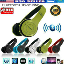 Wireless Bluetooth Headphones Over Ear Foldable Stereo Noise Cancelling Headset