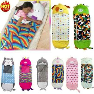 Newest Style Sleeping Bag Happy For Nappers Children Lazy Warm Sleeping Bag