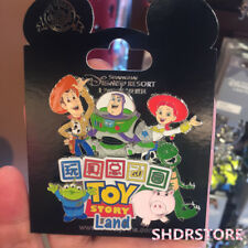 SHDR Disney Pin Toy Story land Grand opening jumbo Shanghai Disneyland Park