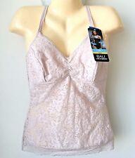 Bali Lace N' Smooth Firm Tummy Slimming Torso Cami Tank Top Shapewear Sz XL NWT