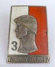 Polen --Odznaki Wzorowy Żołnierz- Stufe 3 Beispielhafte Soldat