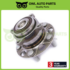 Rear Complete Wheel Hub and Bearing for 2008-2012 Honda Accord Acura Tsx W/ABS