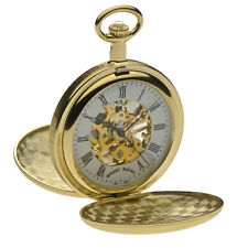 Mount Royal Gold Plated Double Hunter Pocket Watch, Mechanical ref B27