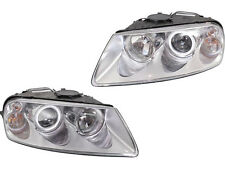 Volkswagen Touareg 04 - 07 Halogen Head Light Lamp Pair