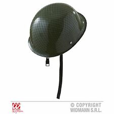 Platoon Soldier Helmet Army Military Armour Fancy Dress Costume Accessory Prop