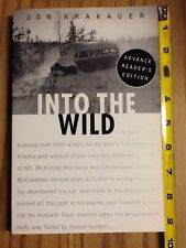Jon Krakauer, Into The Wild, Advance Reader's Edition, free shipping