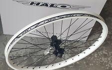 "Halo COMBAT Disc (Rear) Wheel (26"") QR Mountain Bike 8 9 10 speed (WHITE)"