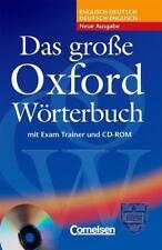 Das große Oxford Wörterbuch - mit Exam Trainer