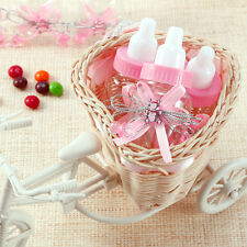 24x Mini Biberón con Osito Chupete Lace para Bautizo Baby Showers Gift Bottle