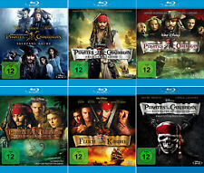 Fluch der Karibik 1 - 5 (Pirates of the Caribbean)             | 6-Blu-ray | 054