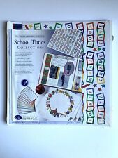 NEW Creative Memories School Times Collection Pages Pack 12x12 Old style